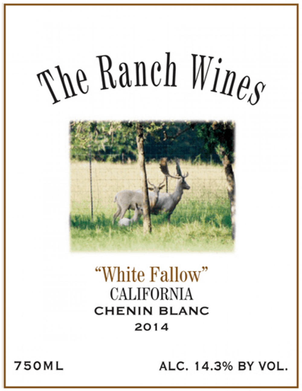 California Chenin Blanc White Fallow