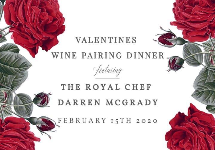 Valentine Wine Pairing Dinner – 2020