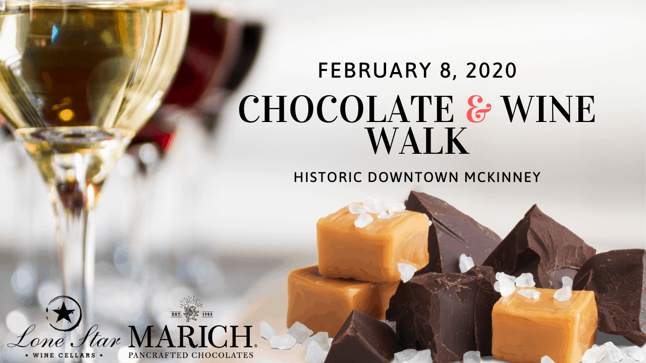 Valentine's Date Ideas - Chocolate Wine Walk