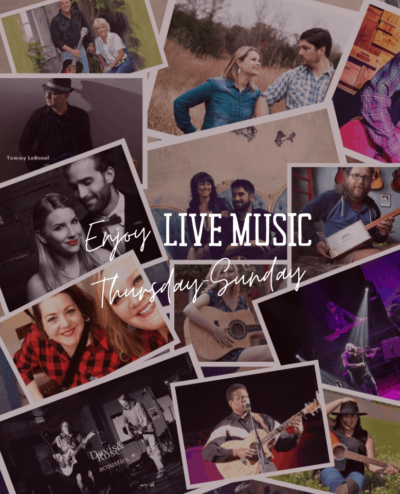 Enjoy Live Music Thursday - Sunday